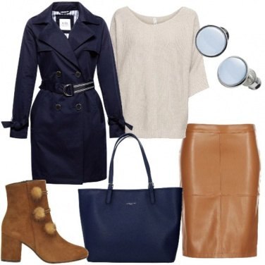 Outfit I colori dell\'autunno Pantone Classic
