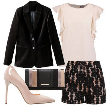 Outfit Shorts per la sera