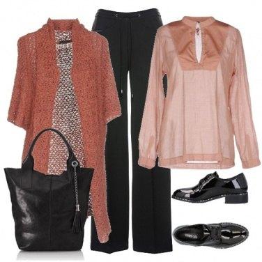 Outfit Nero e rosè!!!