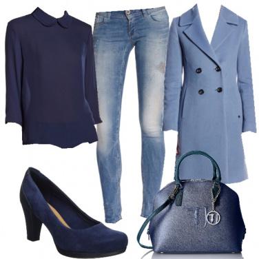 Outfit Blu e oltre