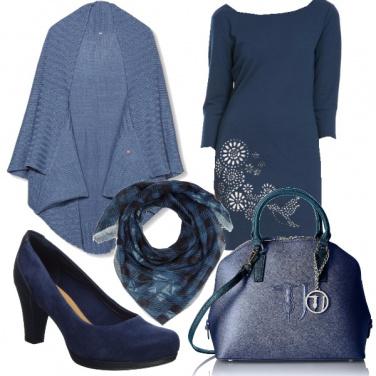 Outfit Blu blu blu