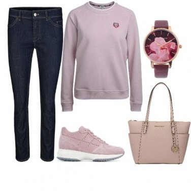 Outfit Lilac Kenzo