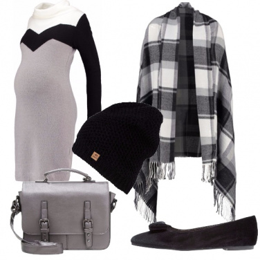 Outfit Mamma comoda e abbinata