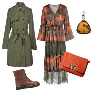 Outfit Arancio militare