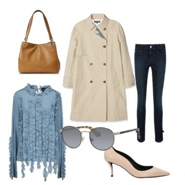 Outfit Trench autunnale