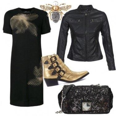 Outfit Lo stivaletto d'oro