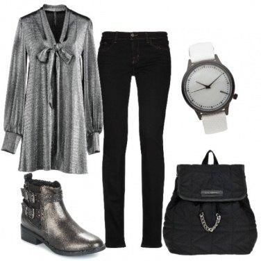 Outfit Versatile (giorno e sera)