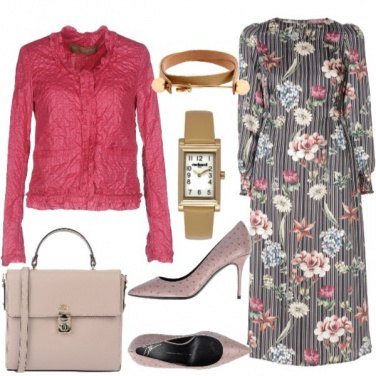 Outfit Floreale chic