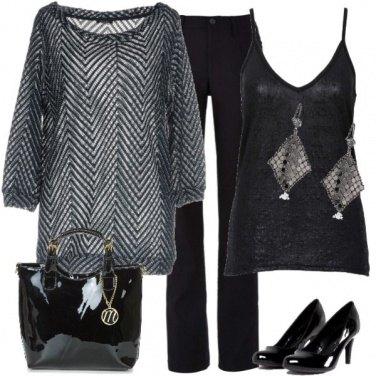 Outfit Quasi un total Black look
