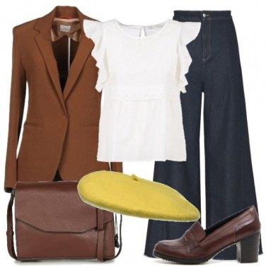 Outfit Cappello giallo