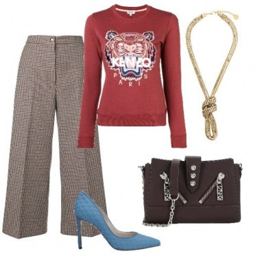 Outfit Chic in felpa