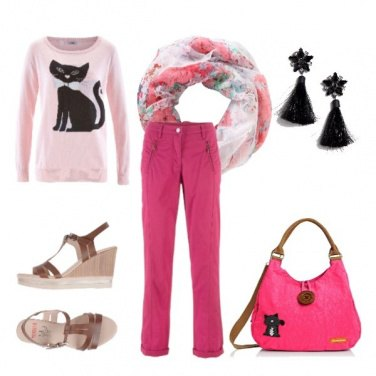 Outfit Cat sitter
