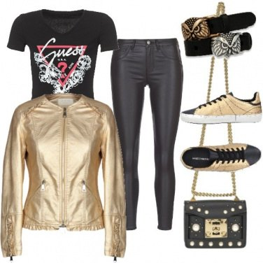 Outfit Oro rock