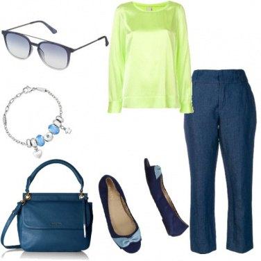 Outfit Basic, lino e seta per tutto il giorno