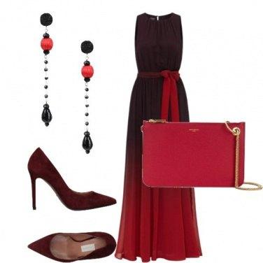 Outfit 50 sfumature di rosso