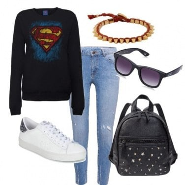 Outfit Super woman