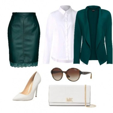 Outfit Green chic