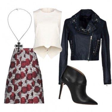Outfit Rock di classe