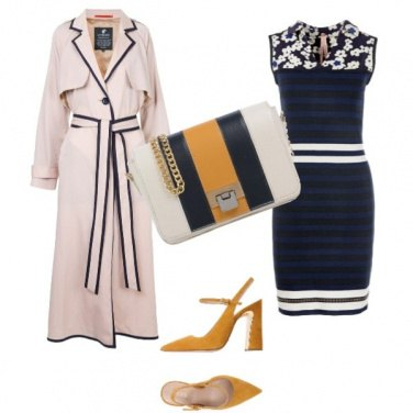 Outfit Il trench elegante
