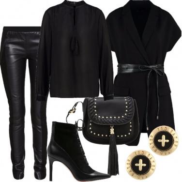 Outfit Nero su nero