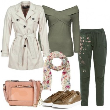 Outfit Pratico trench