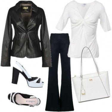 Outfit Perfetta in bianco& nero