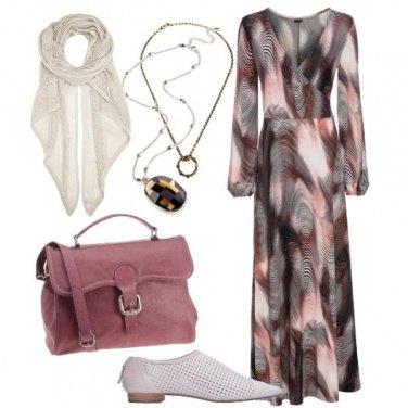 Outfit Bohémien moderno