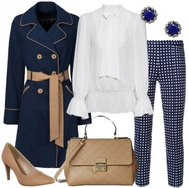 Outfit Chic con il trench