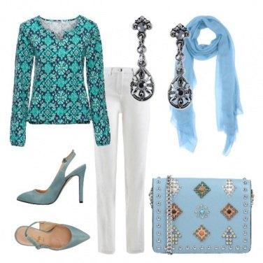 Outfit Accessori celesti