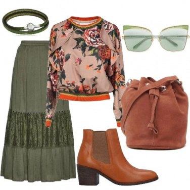 Outfit Gli occhiali verdi