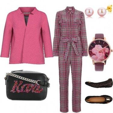 Outfit Sportivo e romantico