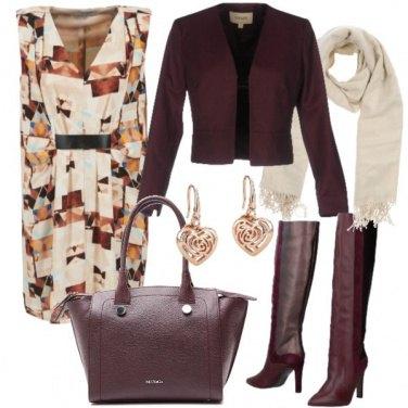 Outfit Colori autunnali, per l'ufficio