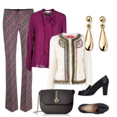 Outfit Fucsia lover