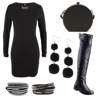 Outfit Basic black