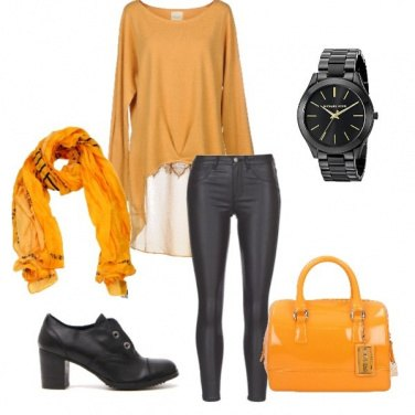 Outfit Grinta in giallo!