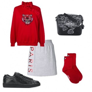 Outfit Kenzo Total look