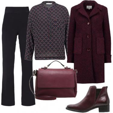 Outfit Mannish per l\'ufficio