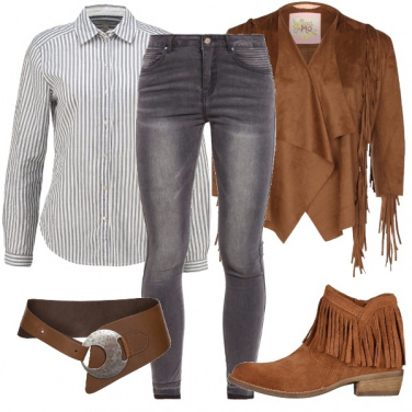 Outfit In stile cowgirl
