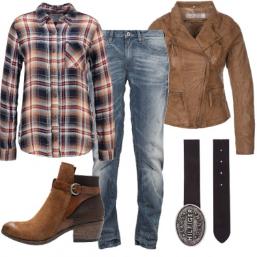 Outfit Western autunnale