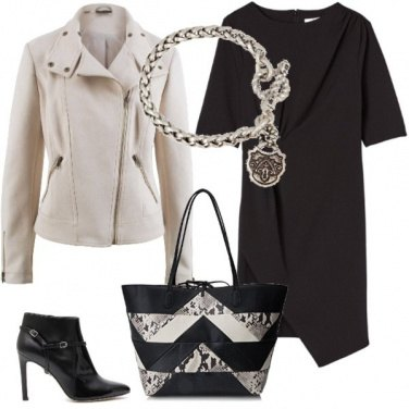 Outfit Rock and chic office