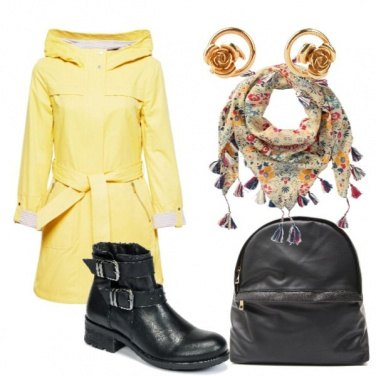 Outfit Autunno in giallo