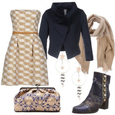 Outfit Broccato