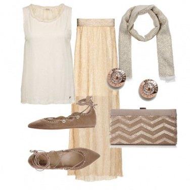 Outfit Romantico di fine estate