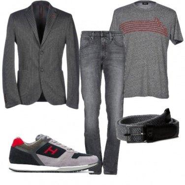 Outfit Rientro in grigio
