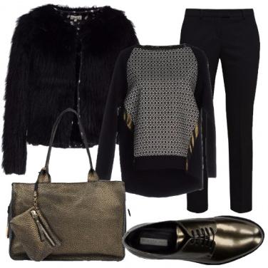 Outfit Bagliori d\'oro