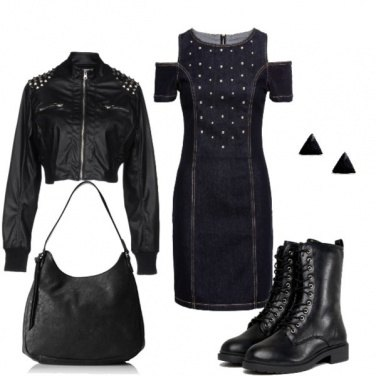 Outfit Hard black