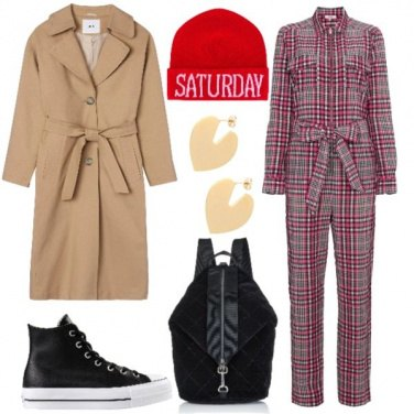 Outfit Adorato trench