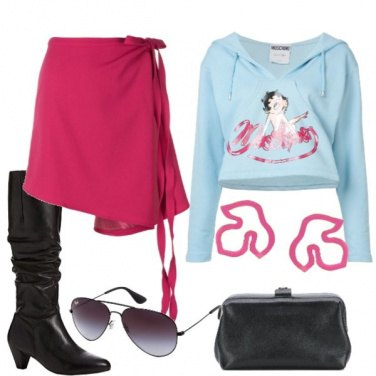Outfit Felpa cartoon