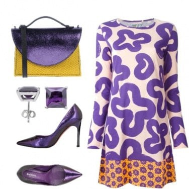Outfit Stampe stilizzate