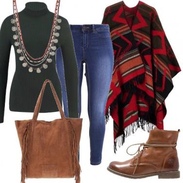 Outfit Colori caldi e autunnali